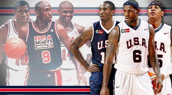 NBA 2K13 presenta su tráiler con el Dream Team del 92 vs el Team USA 2012 - Dream-Team-1992-vs-2012-590x325