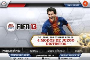 FIFA 13 para iOS es lanzado por EA