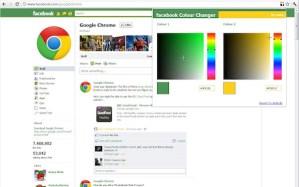 Cambia los colores de Facebook con esta extensión de Google Chrome
