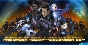 Anime de Mass Effect: Paragon Lost saldrá en diciembre