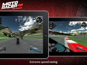Moto Racer 15th Anniversary un divertido juego de carreras de motos para iOS