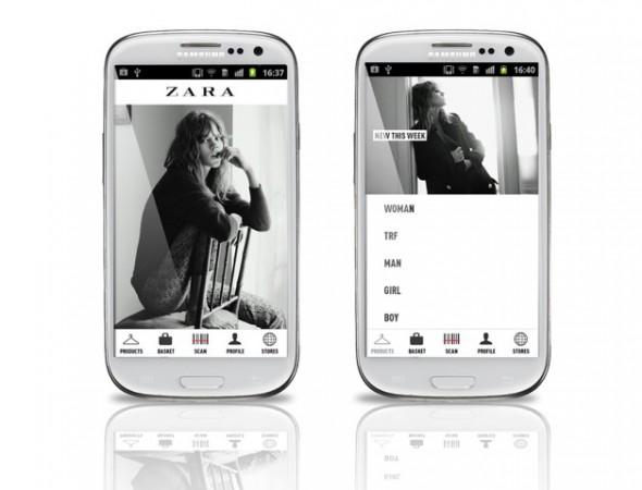 Samsung lanza app para la tienda de ropa Zara - Samsung_Zara_Fashion-590x450