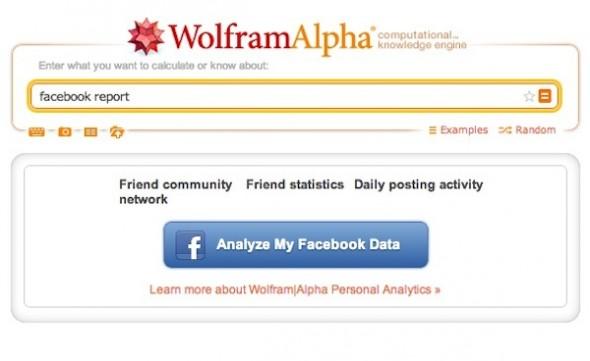 Analiza tu cuenta de Facebook con Facebook Reports de Wolfram Alpha - Wolfram-alpha-facebook-reports-590x361