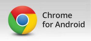 Nueva actualización de Chrome para Android
