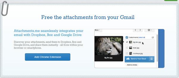 Adjunta archivos desde SkyDrive para GMail con esta extensión para Chrome y Firefox - attachments-me