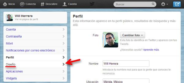 cambiar banner twitter 2 Cómo cambiar el encabezado o banner de tu perfil de Twitter