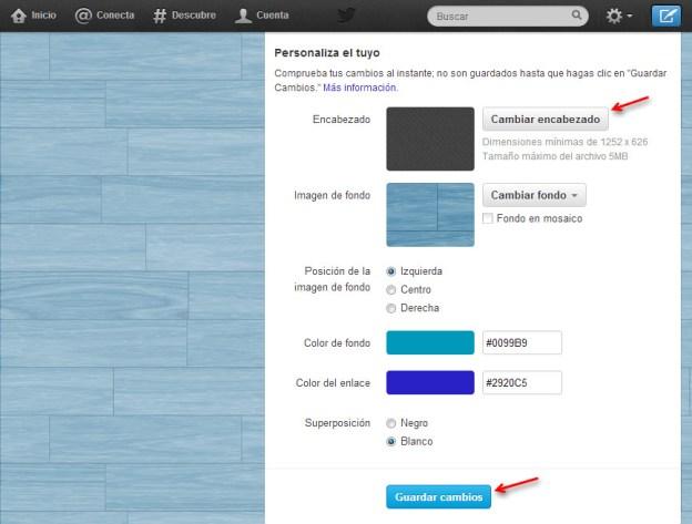 Cómo cambiar el encabezado o banner de tu perfil de Twitter - cambiar-banner-twitter-3
