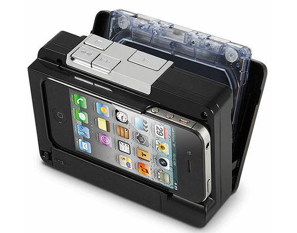 Inventan convertidor de casete a iPod - casete-a-ipod