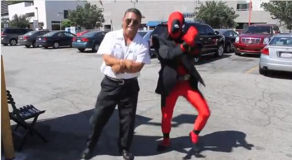 Video de la semana: Deadpool vs Gangnam Style - deadpool-vs-gangman-style
