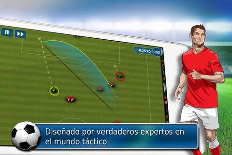Fluid Football, interesante juego de futbol para iOS - fluid-football-ios