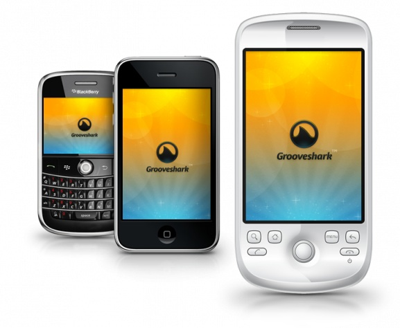 grooveshark movil web Grooveshark actualiza su aplicación web para móviles [Reseña]