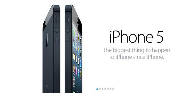 Nuevo iPhone 5 es presentado - iphone5