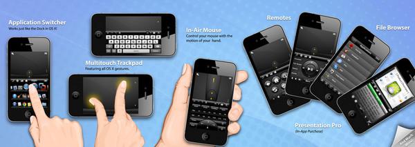 Controla el mouse y teclado de tu computadora con Mobile Mouse desde tu smartphone - mobile-mouse-ios