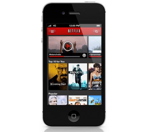 Netflix se actualiza a su versión 2.3 para iPhone y iPod touch - netflix-para-iphone