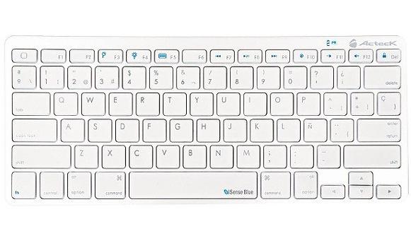 Nuevo teclado Bluetooth iSenseBlue TB-850 lanzado por Acteck - nuevo-teclado-bluetooth