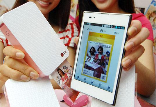 photo pocket de lg Pocket Photo: nueva impresora portátil lanzada por LG