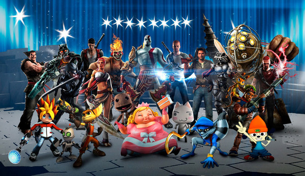 Todos los personajes confirmados para PlayStation All-Stars Battle Royale - playstation-all-stars-battle-royale