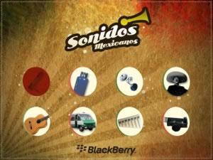 sonidos mexicanos app 2 Sonidos mexicanos, una app para BlackBerry muy mexicana