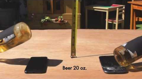 Nuevo test sobre la resistencia del iPhone 5 vs el Samsung Galaxy 3 - test-iphone-vs-samsung