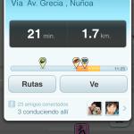 Se presenta Waze 3.5 que mejora la forma de conducir en comunidad - ETA-screening-friends_ES_640x1136
