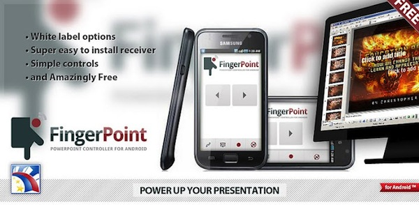 Realiza presentaciones desde tu Android con Finger Point - Finger-Point-Android