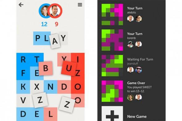 Letterpress, un nuevo, adictivo y atractivo juego para iOS - Letterpress-ios-590x393