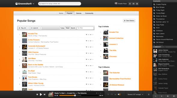 Popular 590x329 Grooveshark rediseña su sitio con importantes mejoras sociales y opciones para artistas
