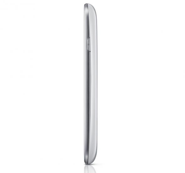 Samsung lanza oficialmente el Galaxy SIII Mini - SamsungGalaxyS3Mini_side-590x552