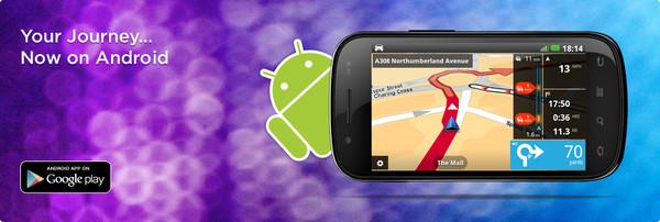 El navegador GPS TomTom ya está disponible en Android - android-tomtom