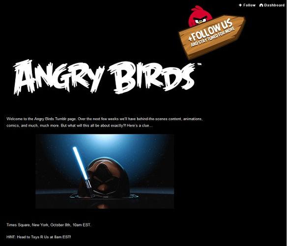Rovio lanzará versión de Angry Birds inspirada en Star Wars [Rumor] - angry-birds-star-wars