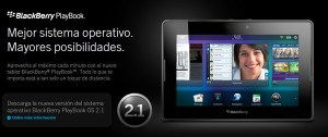 RIM presenta la versión 2.1 de BlackBerry PlayBook OS para su tablet versión WiFi
