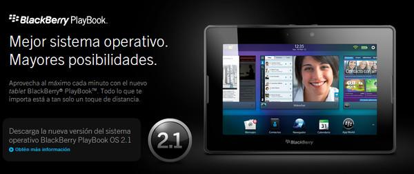 RIM presenta la versión 2.1 de BlackBerry PlayBook OS para su tablet versión WiFi - blackberry-playbook-2-1