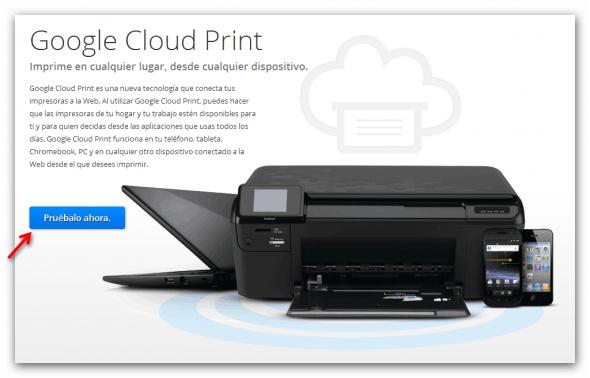 """Cómo eliminar dispositivos de la extensión """"Chrome to Mobile"""" para Google Chrome - cloud-print-590x378"""