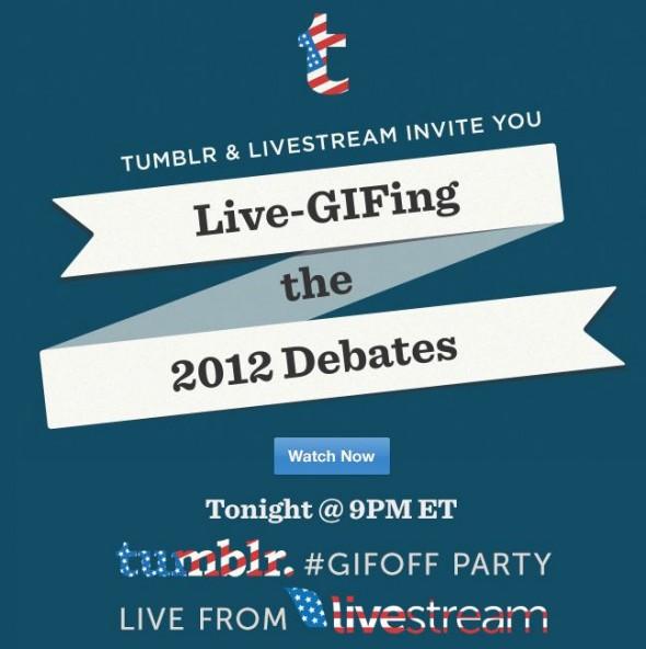 Tumblr y Livestream se unen para transmitir en vivo el segundo debate presidencial de EUA - debate-obama-590x592