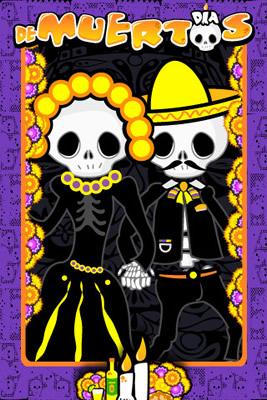 Apps de Halloween y Día de muertos para tu Smartphone - dia-de-muertos-iphone