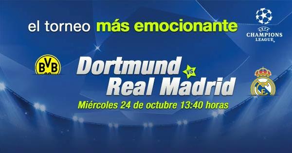 Dortmund vs Real Madrid en vivo, Champions League 2012 - dortmund-real-madrid-en-vivo-champions-league-2012