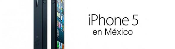 iPhone 5 mexico 590x167 iPhone 5 en México la primera semana de noviembre con Telcel, Iusacell y Movistar