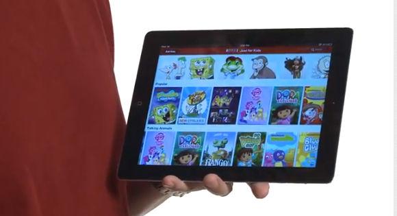 """Netflix """"solo para niños"""" ya disponible también para iPad - just-for-kids-para-ipad"""