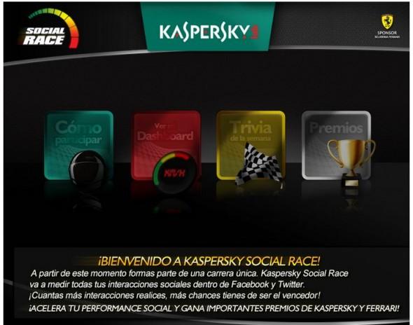 Participa en Kaspersky Social Race - kaspersky-social-race-590x464