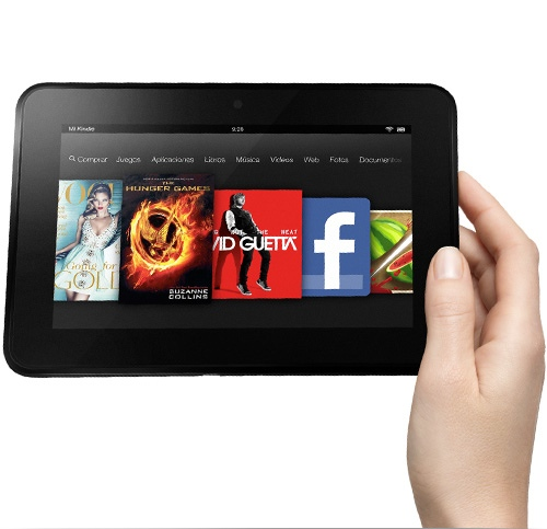 iPad Mini ayuda a mejorar las ventas del Kindle Fire HD - kindle-fire