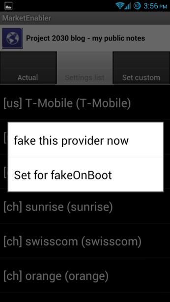 market enabler 3 Descargar aplicaciones que no están disponibles en la Play Store de tu país con Market Enabler