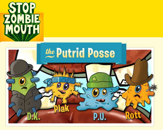 Plants vs. Zombies y ADA Presentan: Stop Zombie Mouth! - putrid-posse