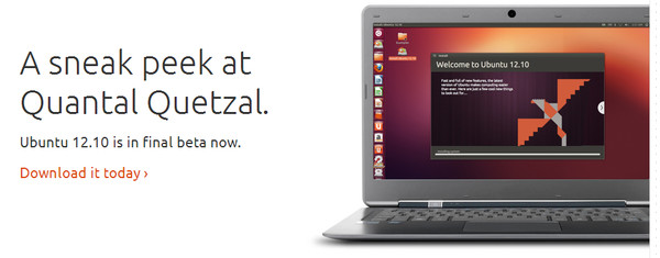 Ubuntu 12.10 Quantal Quetzal beta disponible para descargar - quantal-quetzal