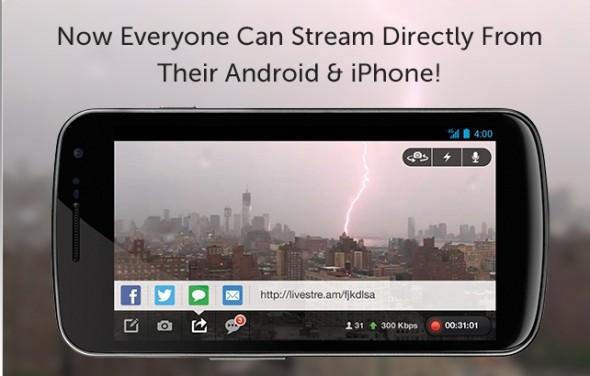 sandy cam 590x376 Sigue en vivo la cobertura de Sandy a través de Livestream #Sandycam