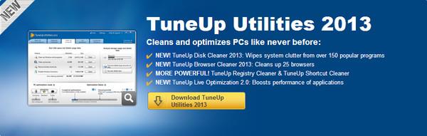 TuneUp Utilities 2013 es presentado y permite limpiar tu equipo hasta 6 veces mas a fondo - tuneup2013