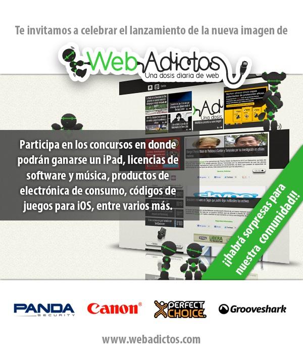 ¡Te invitamos a participar en nuestro concurso de lanzamiento! - webadictos-concurso-lanzamiento
