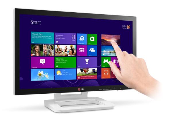 LG presenta el monitor Touch 10 optimizado para Windows 8 - ET83