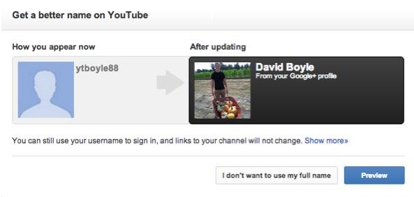 Google permitirá relacionar el perfil de Google Plus con nuestra cuenta en Youtube - Enlazar-youtube-google-plus
