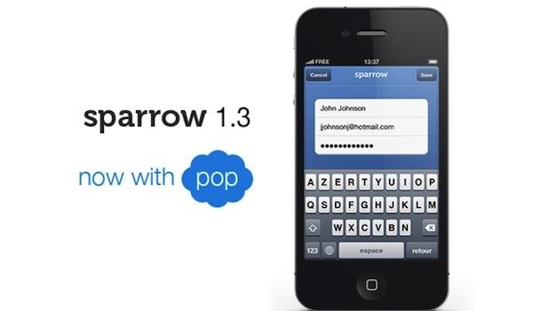 Sparrow para iOS se actualiza para ser compatible con Passbook y el iPhone 5 - Sparrow-ios-actualizacion