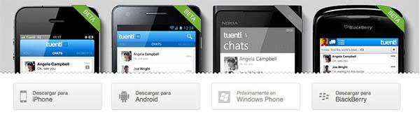 Tuenti Social Messenger Social Messenger, una alternativa a WhatsApp presentada por la red social Tuenti